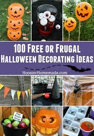 Halloween Decorations To Make At Home Fun Halloween Decorating Ideas Hoosier Homemade