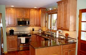kitchen cabinets with countertops maple kitchen cabinets with granite countertop