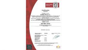 fluido bureau veritas gometrics certifica su sistema de gestión de calidad iso 9001 2015