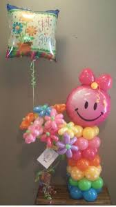 character balloons delivery ch5 character littlegirl flower delivery character balloon