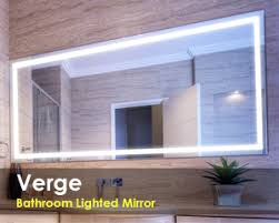 Bathroom Mirror With Lights Built In Led Bathroom Mirror Lighting Led Bathroom Mirror Lighting O