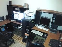 L Shaped Desk With Hutch Walmart Bush Wc81430 31 Somerset 60 L Shaped Desk Package Maple Cross Free