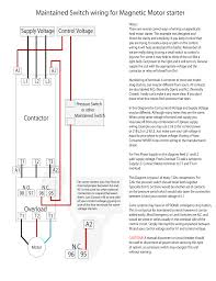 rated characteristics of electrical contactors wiring diagram