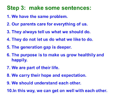 for class 16 senior three six steps for the writing practice