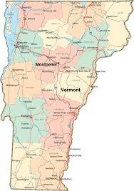 Vt Map Vermont