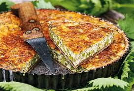 ortie cuisine recette de la forêt une quiche aux orties say yess