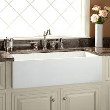Farmers Sink Pictures by Farmhouse Sinks Apron Front Sinks Signature Hardware