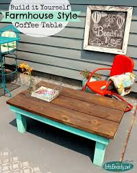 Woodworking Build Coffee Table by Diy Vintage Inspired Farmhouse Style Coffee Table Deckedout