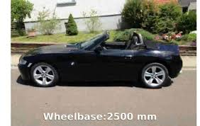 2006 bmw z4 2 5i roadster info details youtube