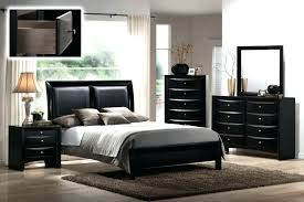 ashley furniture black bedroom set s prentice and white leather