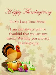 to my time friend happy thanksgiving card for friends