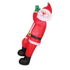 animated santa climbing santa animated christmas inflatables
