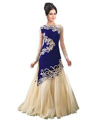 gown dress with price city shop blue beige net gown for women buy city shop blue