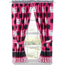 girls bedding and curtains sets of 2 bedroom curtains