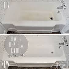Bathroom Tile Refinishing Kit - best 25 bathtub refinishing ideas on pinterest bath refinishing