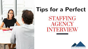 staffing agency interview do these 5 things to prep