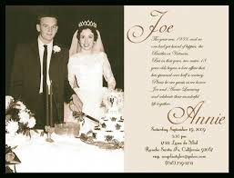 cool collection of 50th wedding anniversary invitations which