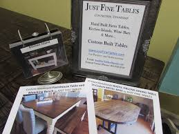 handmade kitchen islands just fine tables farm tables to love and last