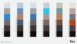 Light Saber Color Meanings Every Star Wars Movie According To Its Colors Vox