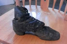 Kitchen Shoes by A Sole For A Soul U2014 Hidden Shoes Thought To Bring Good Luck By