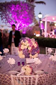 modern elegant purple and white wedding every last detail