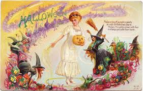 vintage halloween party ideas papergreat vintage halloween postcard