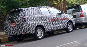 toyota new model car spied new 2016 toyota innova pictures u0026 details