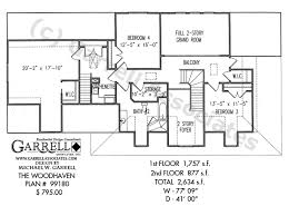 Two Story House Plans With Balconies Woodhaven House Plan House Plans By Garrell Associates Inc