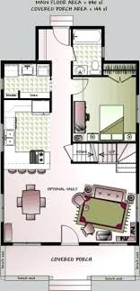 small bungalow floor plans tiny cottages floor plans tiny homes a c sq ft two bedrooms 1 small