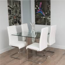 Glass Dining Room Sets by Glass Square Dining Table Home Interior Design Ideas