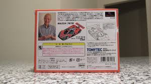 mazda japanese to english tomica limited vintage mazda 787b