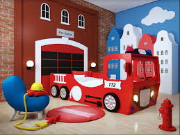 fire truck bed eco materials durable wooden frame slabs red buy