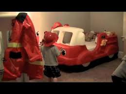 Fire Engine Bed Fire Truck Bed Youtube