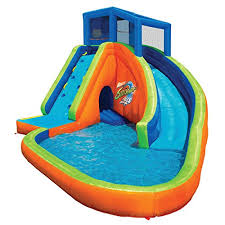 banzai sidewinder falls buying it here best inflatable water slides