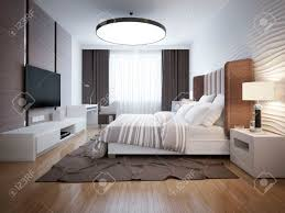 bright design of contemporary bedroom bedroom with white