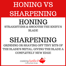 honing vs sharpening u2013 cooking clarified