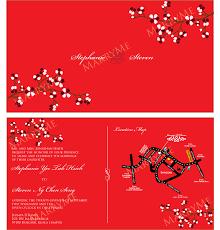 Wedding Invitation Card Writing Chinese Wedding Invitation U2013 Gangcraft Net