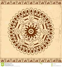 beautiful mexican ethnic ornament stock vector illustration of