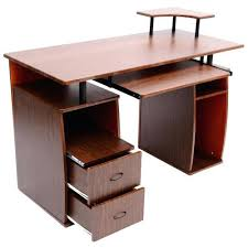 Laptop Desk With Printer Shelf Laptop And Printer Desk Desk Computer Table Laptop Printer Drawer
