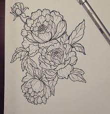tattoo flower drawings 64 best japanese tattoos images on pinterest koi fish tattoo