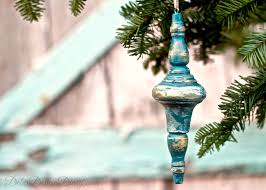 christmas ornaments from broken furniture debis design diary