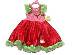 new toddler strawberry shortcake fantasy dress up halloween
