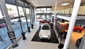 ferrari showroom neuer ferrari showroom bei foitek wheels