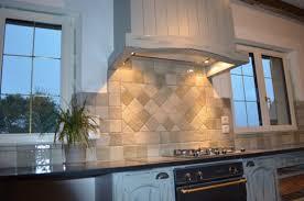 habillage de hotte de cuisine hotte de cuisine cheminée