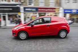 ford brings back the sedan delivery new fiesta van for europe