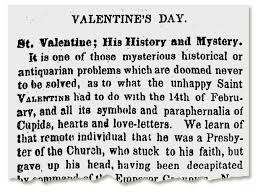 on this day in history valentine s day did it start as a roman party or to celebrate an