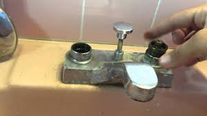 How To Fix Faucet How To Fix A Leaky Bathroom Faucet