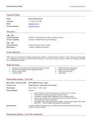 Resume Summary Example 100 Qualification Summary Example Resume Examples 10 Best