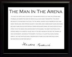 inspirational quote victory unique man in the arena quote 38 on inspirational quotes with man