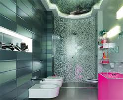 glass tile bathroom ideas for long lasting charm home interior